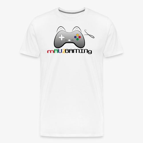 logoshirtsweiss png - Männer Premium T-Shirt