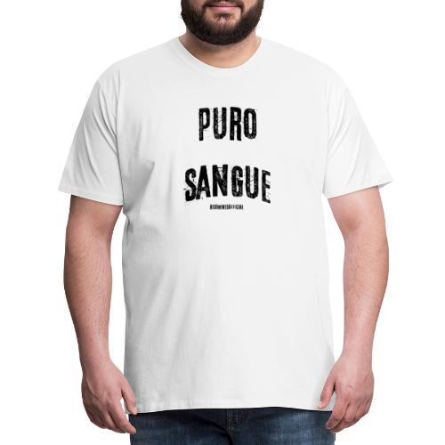 PURO SANGUE - Maglietta Premium da uomo