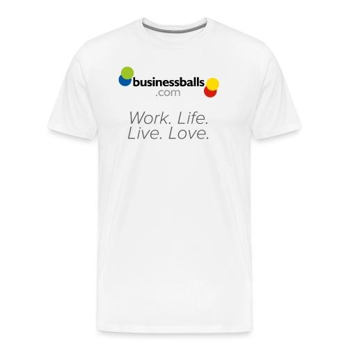 Logo 3 Tshirt2 - Men's Premium T-Shirt