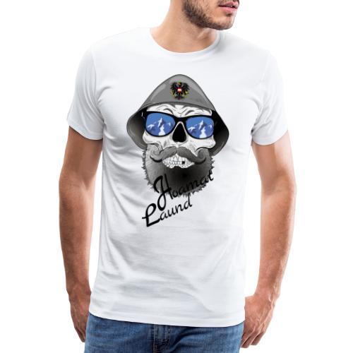 skullmitfilzhut - Männer Premium T-Shirt