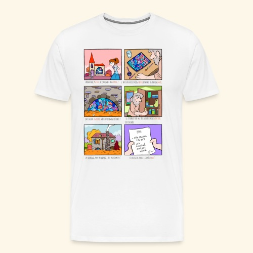 Exception des pluriels en AIL - T-shirt Premium Homme