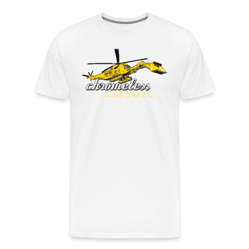 CHROMELESS BAGGERKOPTER - Männer Premium T-Shirt