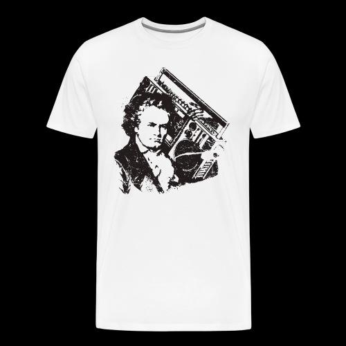 Beethoven oldschool/ - T-shirt Premium Homme
