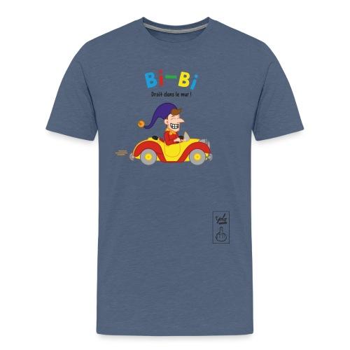 Bibi droit dans le mur - T-shirt Premium Homme