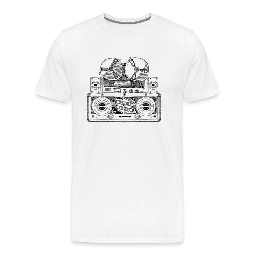 Old Radio - Men's Premium T-Shirt