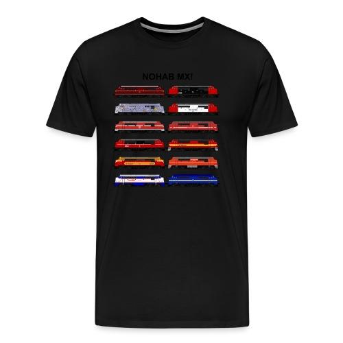NOHAB MX - Herre premium T-shirt