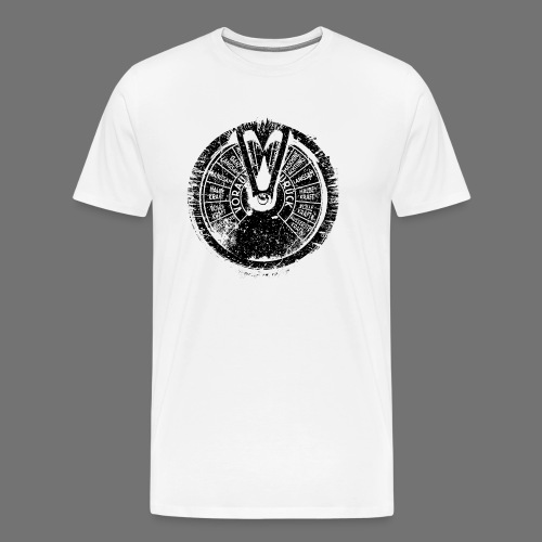 Maschinentelegraph (black oldstyle) - Männer Premium T-Shirt