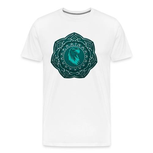 Tête d'aigle - T-shirt Premium Homme