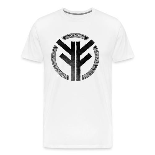 Forefather symbol black - Men's Premium T-Shirt
