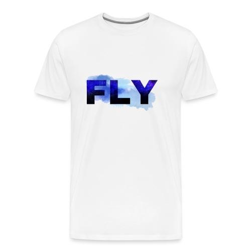 Paint Fly Design - Men's Premium T-Shirt