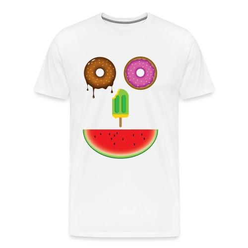 Sweet face food - Maglietta Premium da uomo