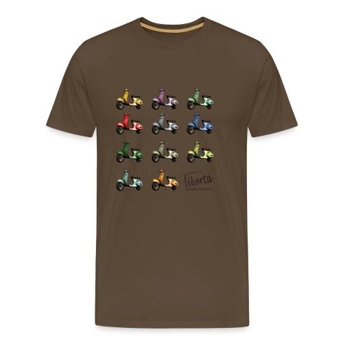 ♂ BIO-SHIRT: gusta la libertà - Männer Premium T-Shirt
