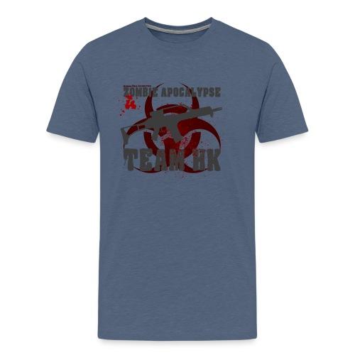 Zombie Apocalypse Team H&K - Männer Premium T-Shirt