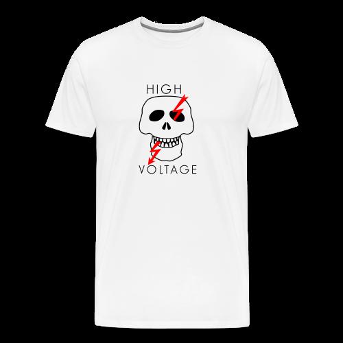 voltage png - Koszulka męska Premium