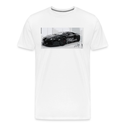 lambo design by blacklyon - Men's Premium T-Shirt