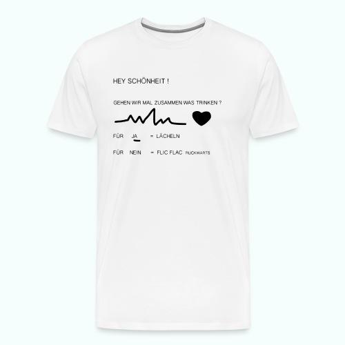 schönheit ve 1702410_1333 - Männer Premium T-Shirt