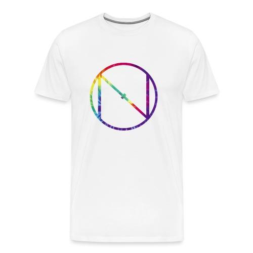 Tye Die Logo - Men's Premium T-Shirt