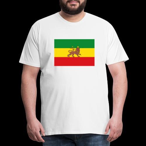 LION FLAG - Men's Premium T-Shirt