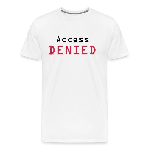 access denied - T-shirt Premium Homme