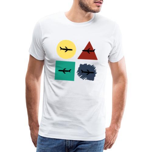 Airlines - Camiseta premium hombre