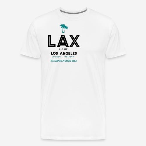 LAX è una buona idea!! - Maglietta Premium da uomo