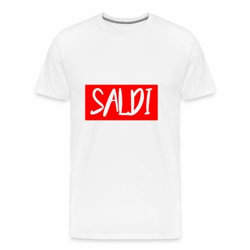 Saldi (Red & White) - Maglietta Premium da uomo