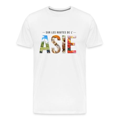 Image noir png - T-shirt Premium Homme