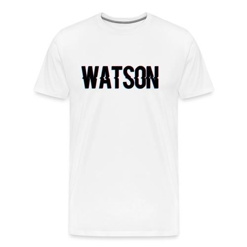 WATSON // SORT - Herre premium T-shirt