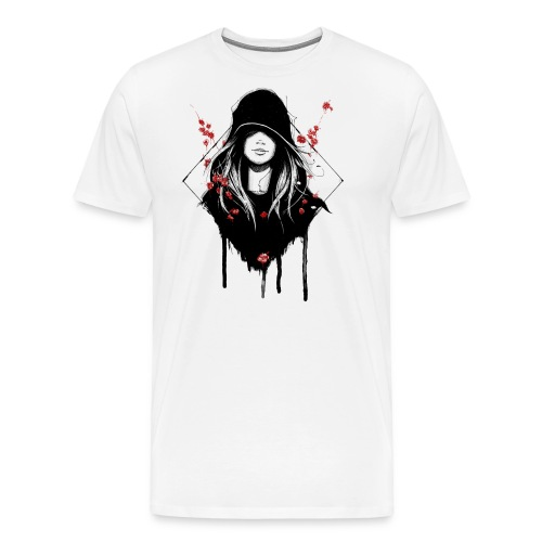 Cover Schwarz Rot Trans - Männer Premium T-Shirt
