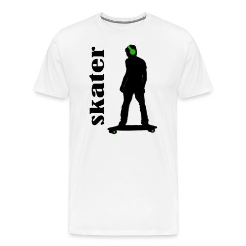 skater green copia - Camiseta premium hombre