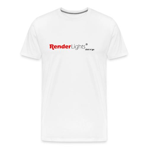 renderlights logo vaeriversiot pdf 20100 - Men's Premium T-Shirt