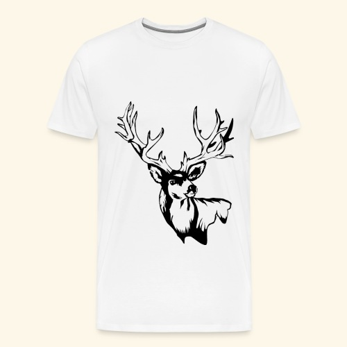 StagPrint png - Men's Premium T-Shirt