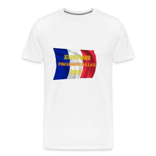 ELECTIONS 2017 - T-shirt Premium Homme