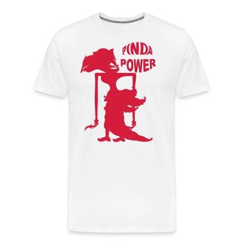 PINDA POWER MANNEN REGULAR - Mannen Premium T-shirt