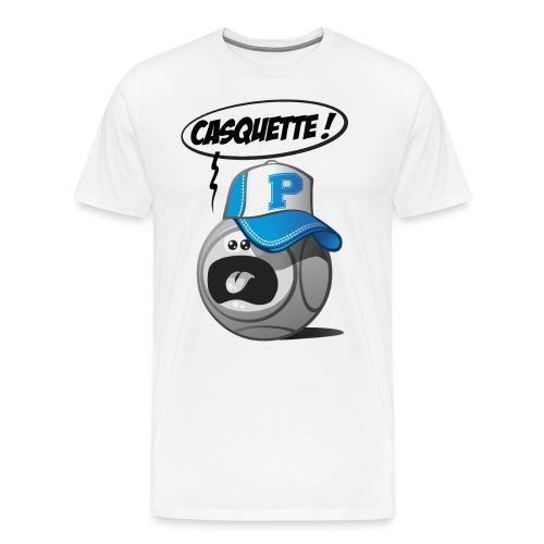 Casquette pétanque - T-shirt Premium Homme