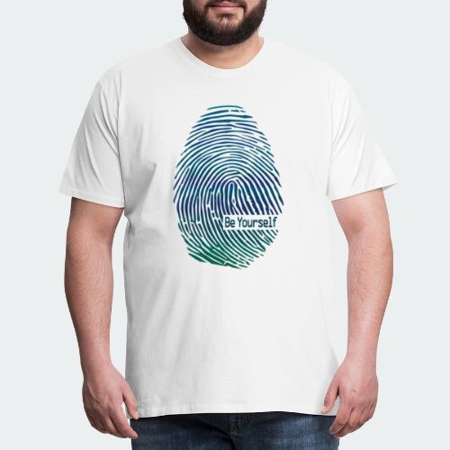 fingerprint1 - Men's Premium T-Shirt