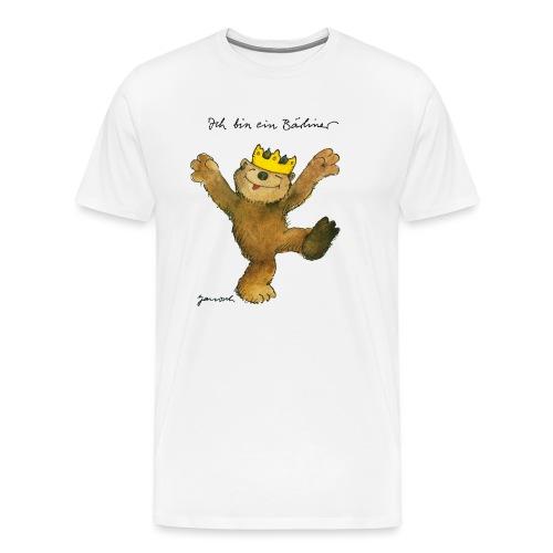 Janosch Kleiner Bär Ich Bin Ein Bärliner - Männer Premium T-Shirt