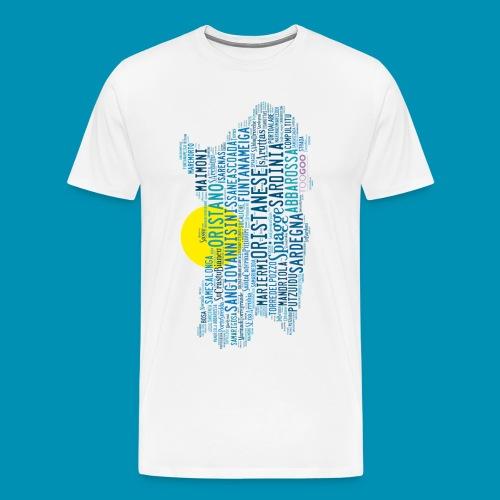 Spiagge Oristano png - Maglietta Premium da uomo
