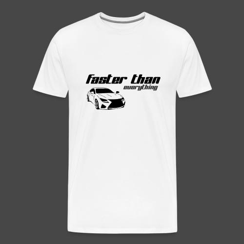 fasterthaneverything - Männer Premium T-Shirt
