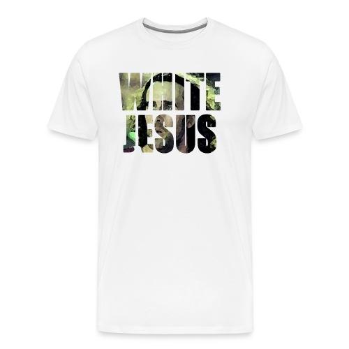 white jesus 3 png - Maglietta Premium da uomo
