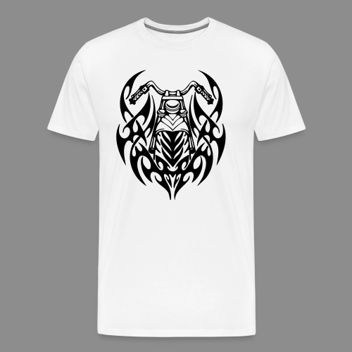 Moto Tribal - Camiseta premium hombre