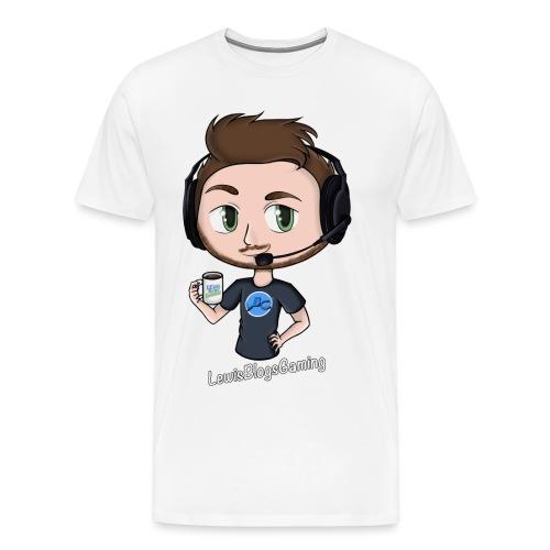 Lewis Blogs Gaming - Men's Premium T-Shirt