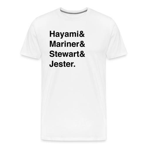 waverace riders - Men's Premium T-Shirt