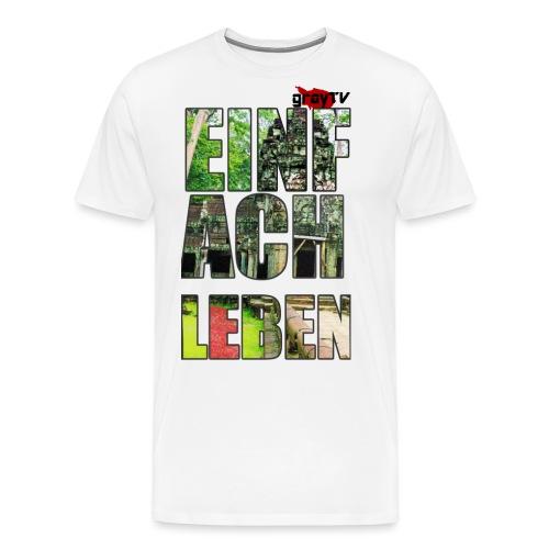 FERTIG SHIRT MIT LOGO png - Männer Premium T-Shirt