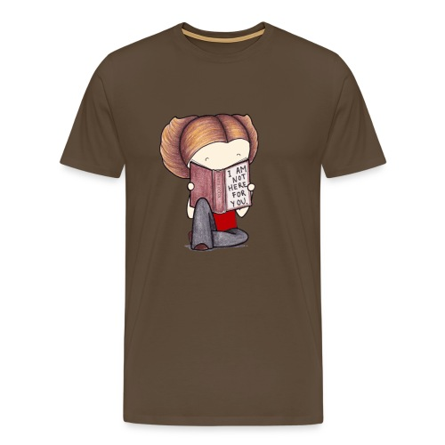 ReadingPrint png - Men's Premium T-Shirt