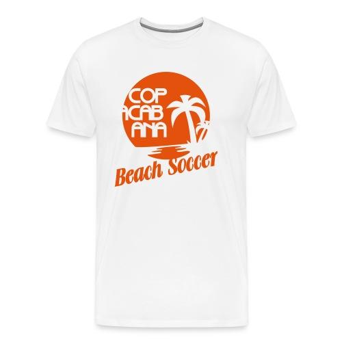 Copacabana Beach Soccer - Männer Premium T-Shirt