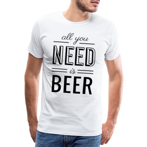 Bier T-Shirt - Männer Premium T-Shirt