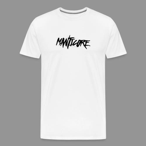 Manticore Noir png - T-shirt Premium Homme