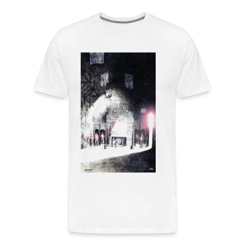 Parliment Hall in Edinburgh Castle - Men's Premium T-Shirt