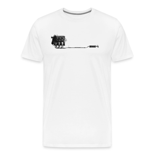 3.2 engine - Men's Premium T-Shirt